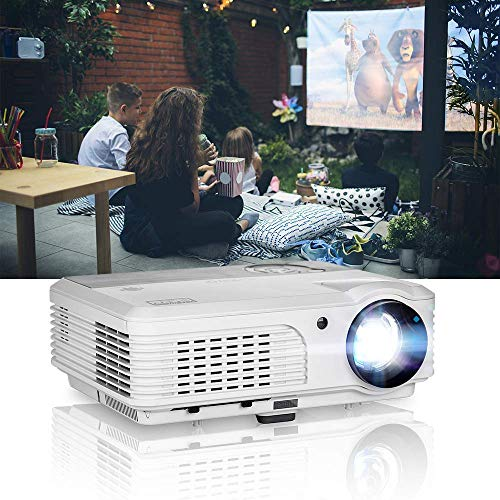 EUG HD Multimedia 1080P Projector Home Theater 1280×800